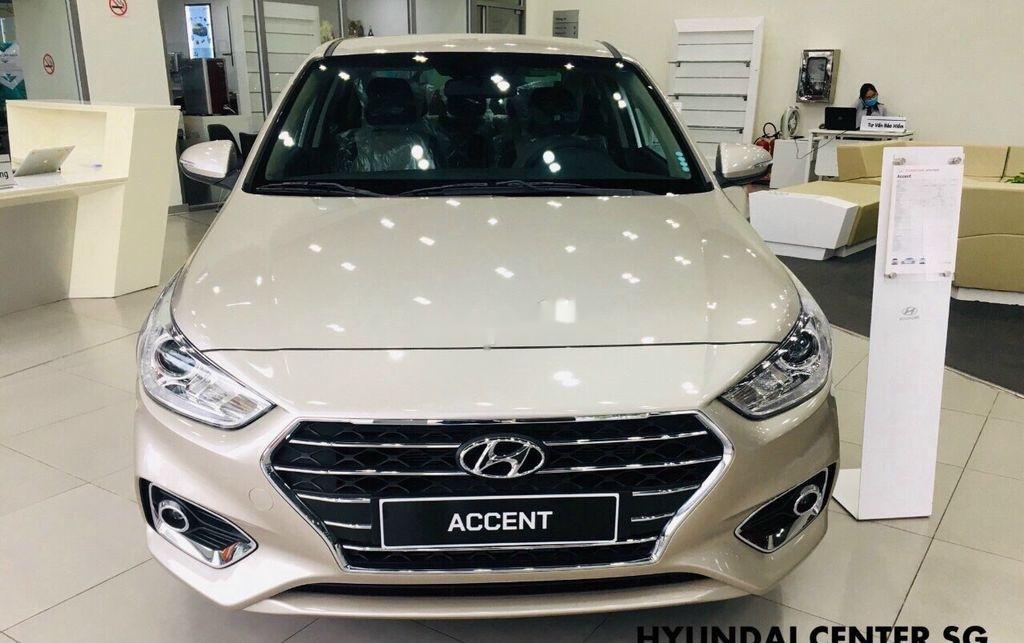 Bán Hyundai Accent đời 2020, màu vàng, mới hoàn toàn (2)
