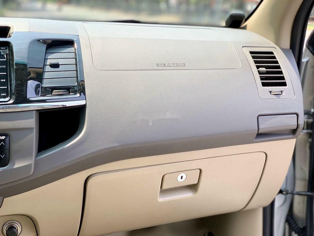 Bán xe Toyota Fortuner năm sản xuất 2012, màu bạc số tự động, BSTP, mới 95% (8)