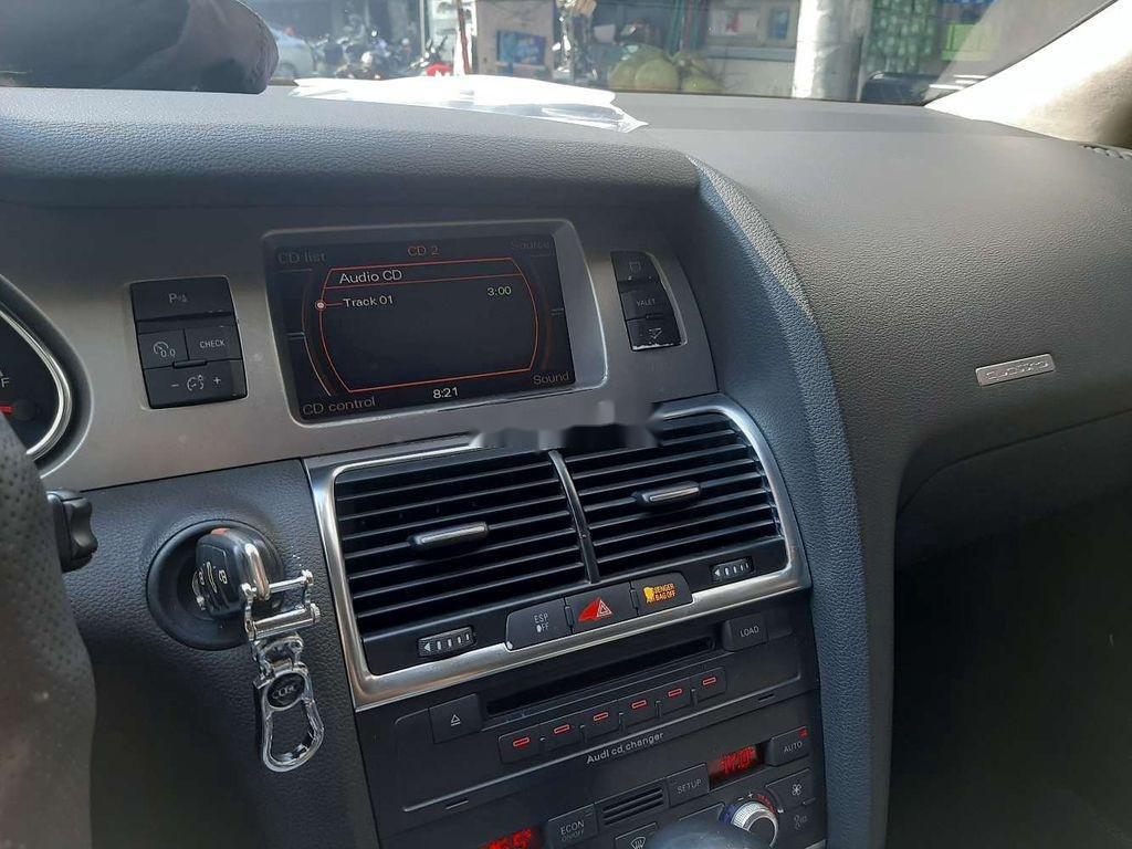 Bán xe Audi Q7 sản xuất 2008, màu xanh lam, nhập khẩu   (4)