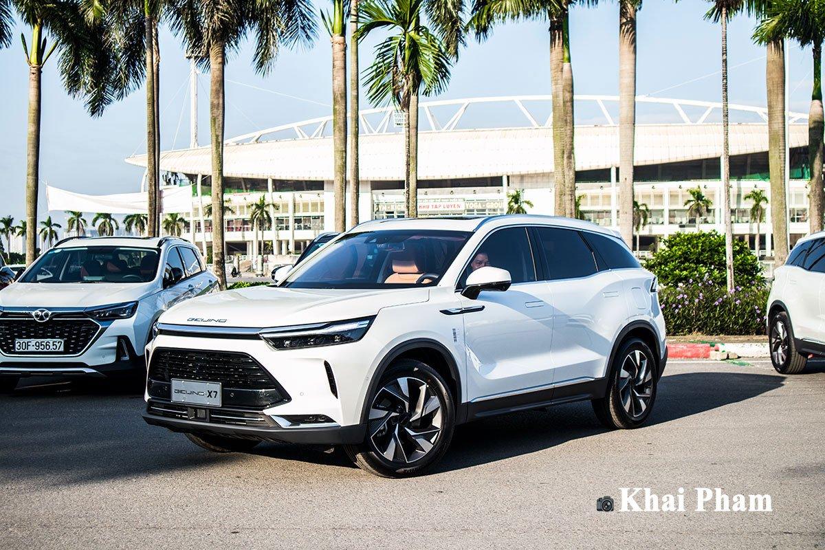 Ảnh đầu xe xe Baic Beijing X7 2020