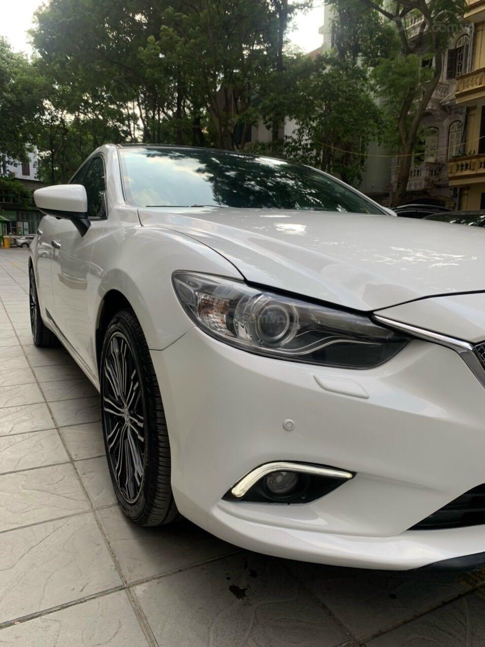 Cần bán Mazda 6 Premium SX 2016 AT, màu trắng, máy nguyên, tư nhân chính chủ (3)