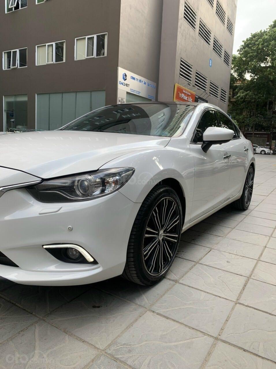 Cần bán Mazda 6 Premium SX 2016 AT, màu trắng, máy nguyên, tư nhân chính chủ (4)