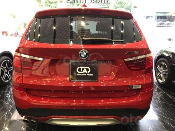 BMW X3 sản xuất năm 2015,màu đỏ (5)