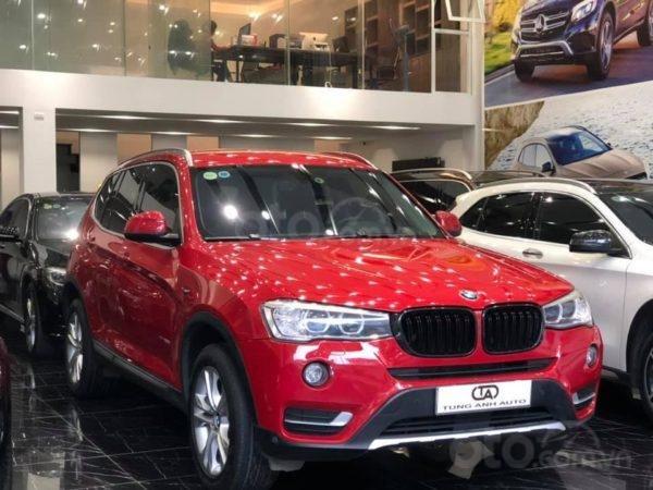 BMW X3 sản xuất năm 2015,màu đỏ (3)