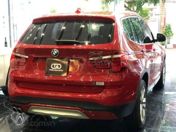 BMW X3 sản xuất năm 2015,màu đỏ (6)