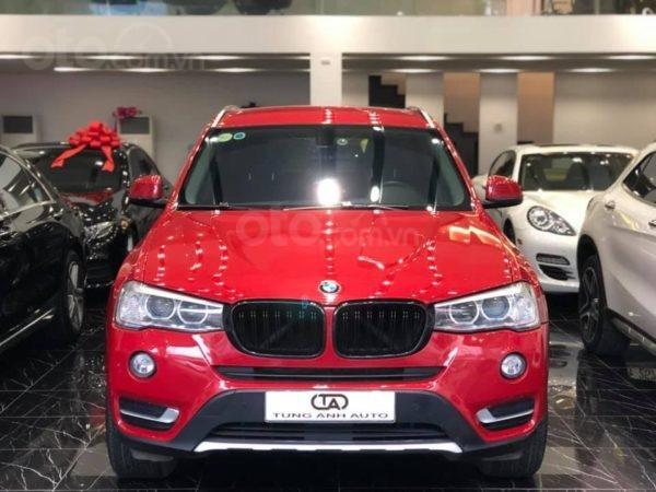 BMW X3 sản xuất năm 2015,màu đỏ (1)