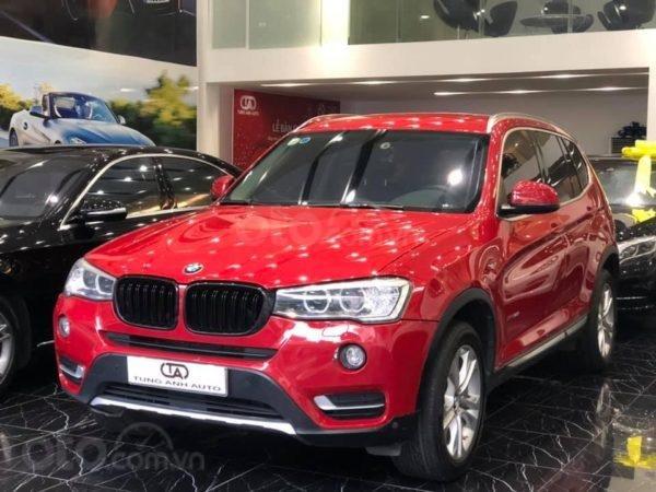 BMW X3 sản xuất năm 2015,màu đỏ (2)