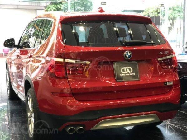 BMW X3 sản xuất năm 2015,màu đỏ (4)