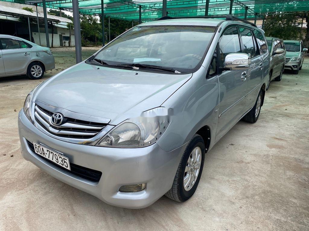 Bán ô tô Toyota Innova năm sản xuất 2006, màu bạc số sàn, giá chỉ 189 triệu (1)