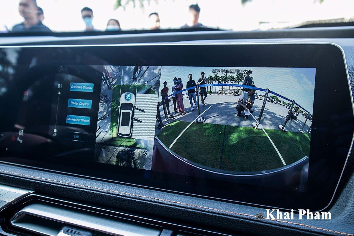 Ảnh Camera 360 độ xe Baic Beijing X7 2020