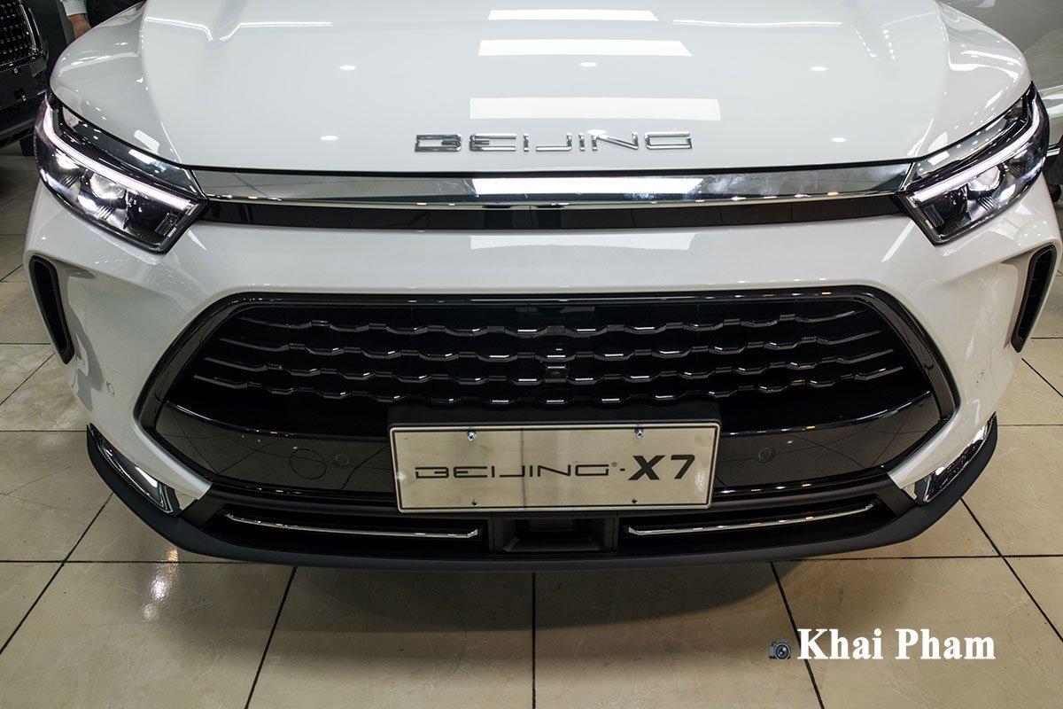 Ảnh chính diện đầu xe xe Baic Beijing X7 2020
