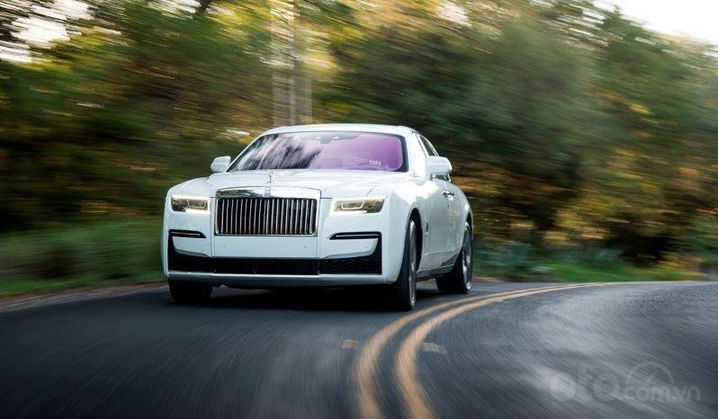 Bán xe Rolls Royce Ghost model 2021, màu trắng (2)