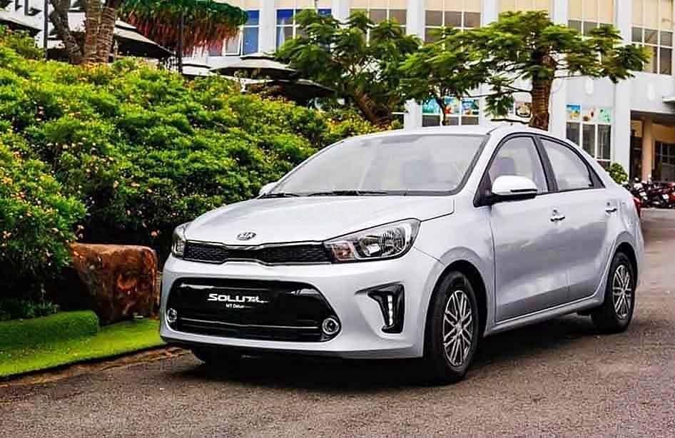 Cần bán xe Kia Soluto sản xuất năm 2020, màu bạc (1)