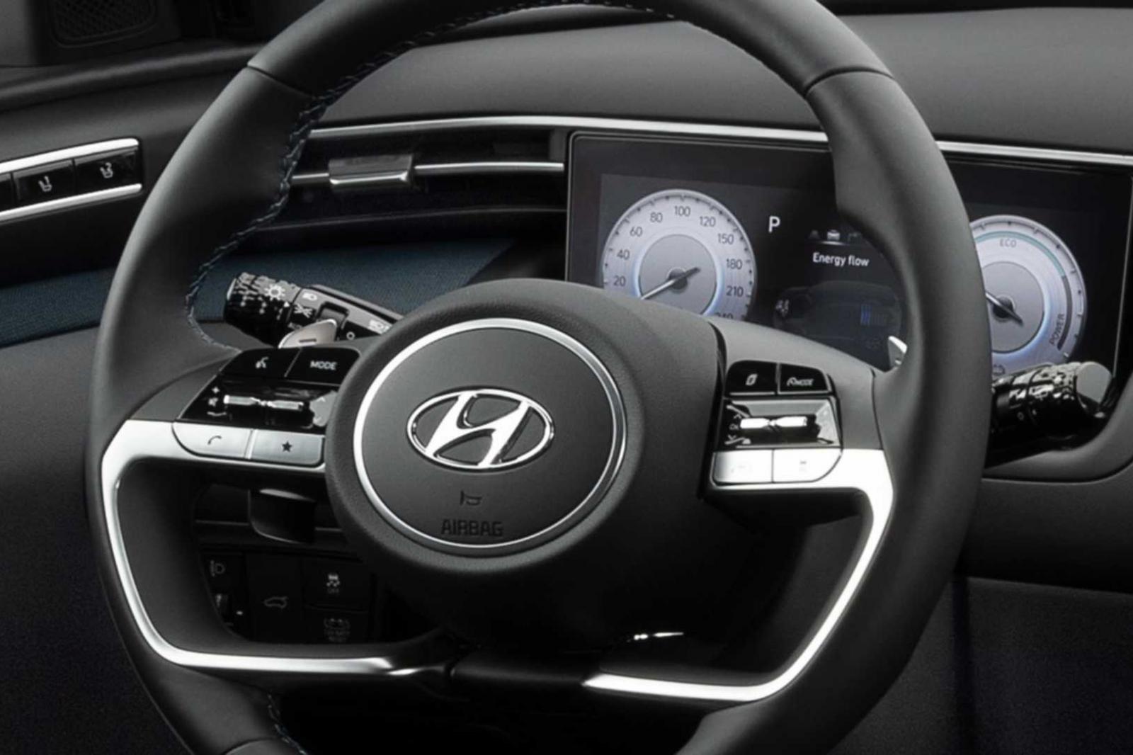 Nội thất của Hyundai Tucson 2021 - Ảnh 1.