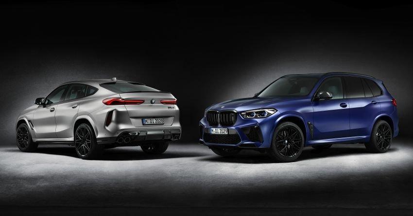 BMW X5 M Competition First Edition 2021 trình làng cùng anh em X6 M.