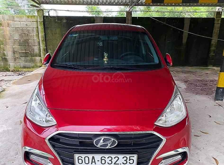 Cần bán Hyundai Grand i10 năm sản xuất 2019, màu đỏ còn mới (2)