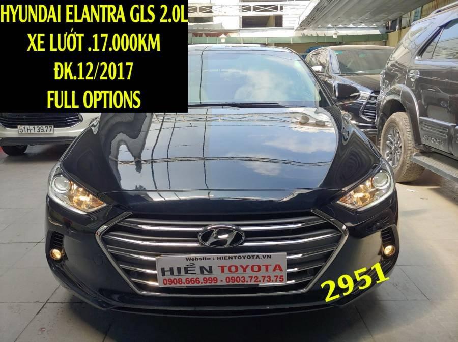 Bán Hyundai Elantra sản xuất năm 2017, màu đen như mới (1)