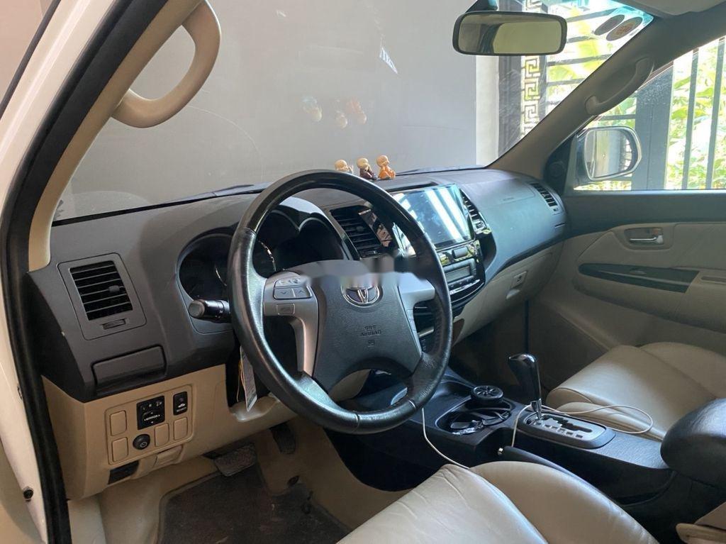 Bán xe Toyota Fortuner sản xuất năm 2015, màu trắng, nhập khẩu số tự động (3)