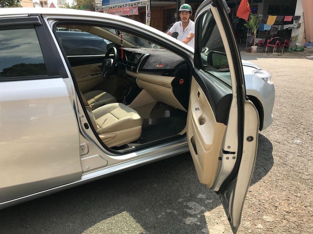 Cần bán xe Toyota Vios sản xuất 2017, màu bạc xe gia đình, giá chỉ 410 triệu (7)