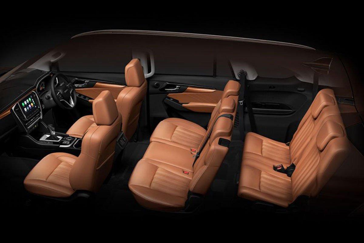Kết cầu ghế ngồi xe Isuzu mu-X 2021 1
