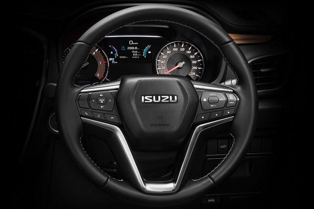 Vô lăng xe Isuzu mu-X 2021 1