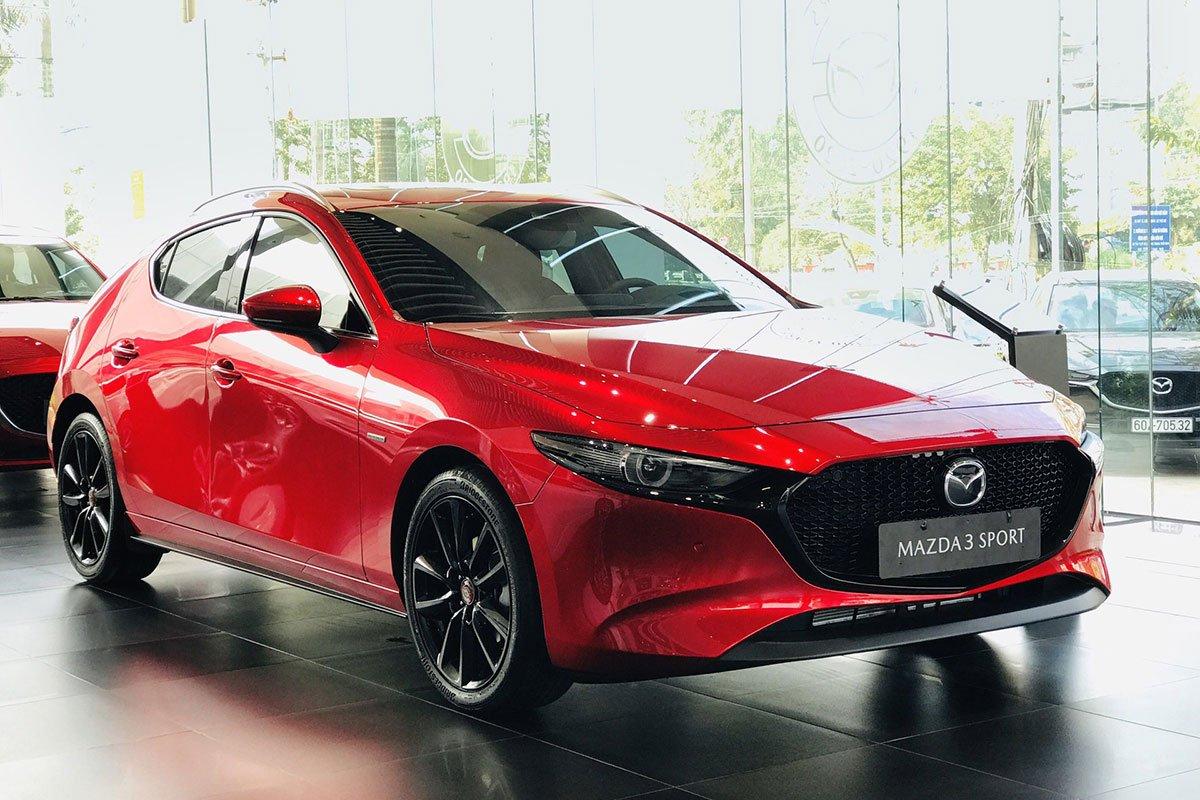 Thiết kế tổng thể xe Mazda 3 Sport bản kỷ niệm 100 năm 1