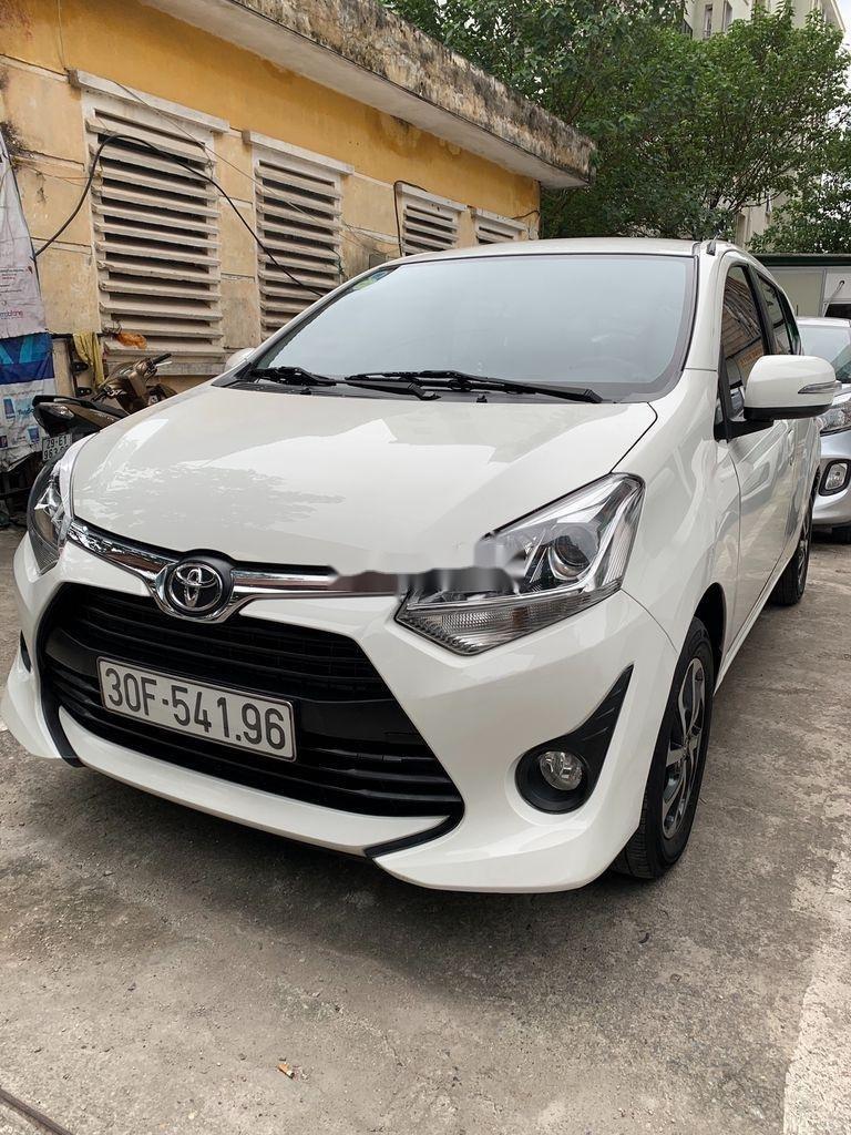 Cần bán lại xe Toyota Wigo sản xuất 2018, màu trắng, số sàn, 290tr (1)