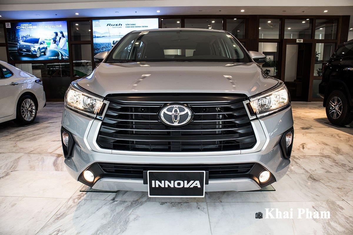 Ảnh đầu xe Toyota Innova 2020