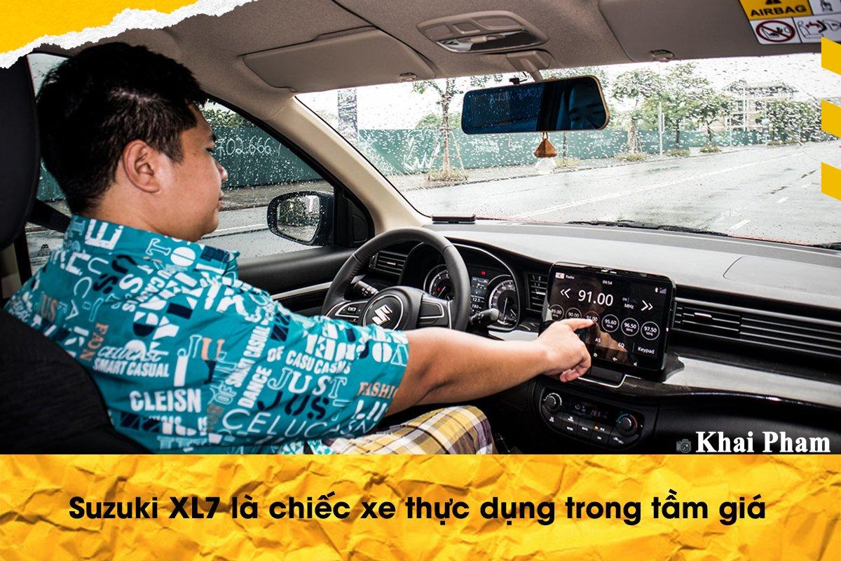 Đánh giá xe Suzuki XL7 từ người dùng a9