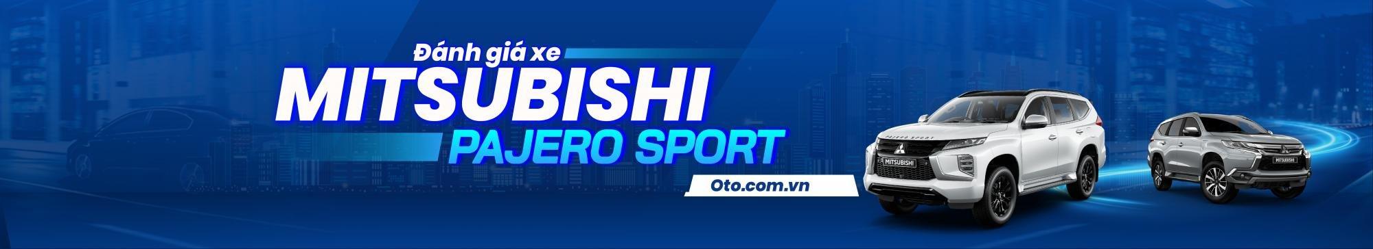 Đánh giá xe Mitsubishi Pajero Sport 2020