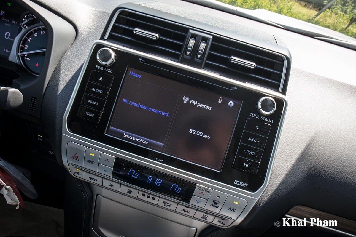 Ưu nhược điểm xe Toyota Land Cruiser Prado 2020 a6