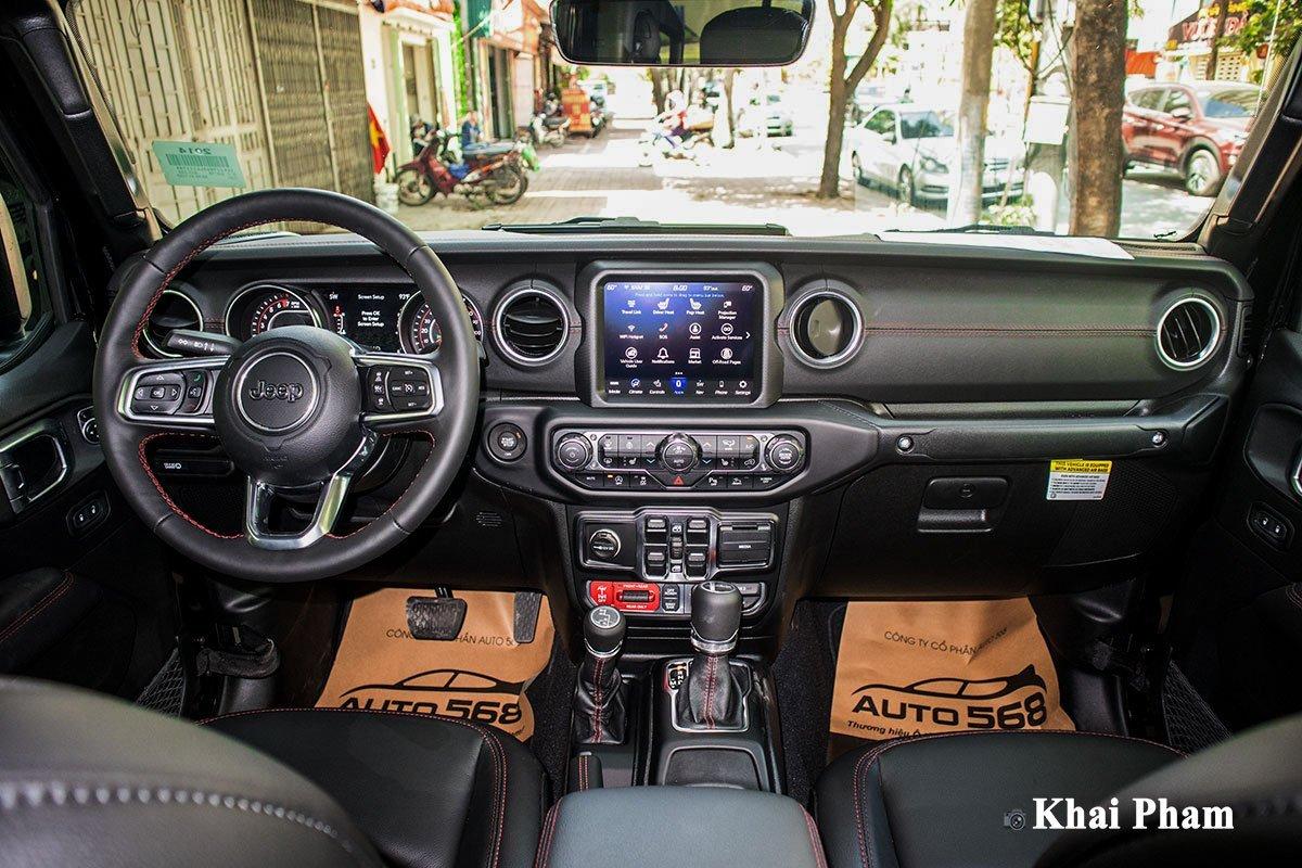 Nội thất Jeep Gladiator - Ảnh 1.