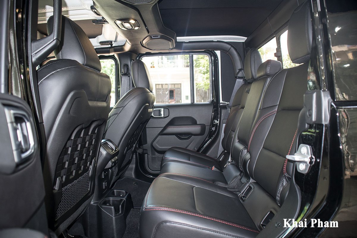 Nội thất Jeep Gladiator - Ảnh 7.