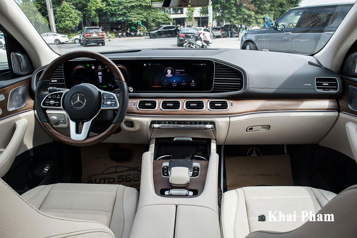 Ảnh Khoang lái xe Mercedes-Benz GLS450 4Matic 2020