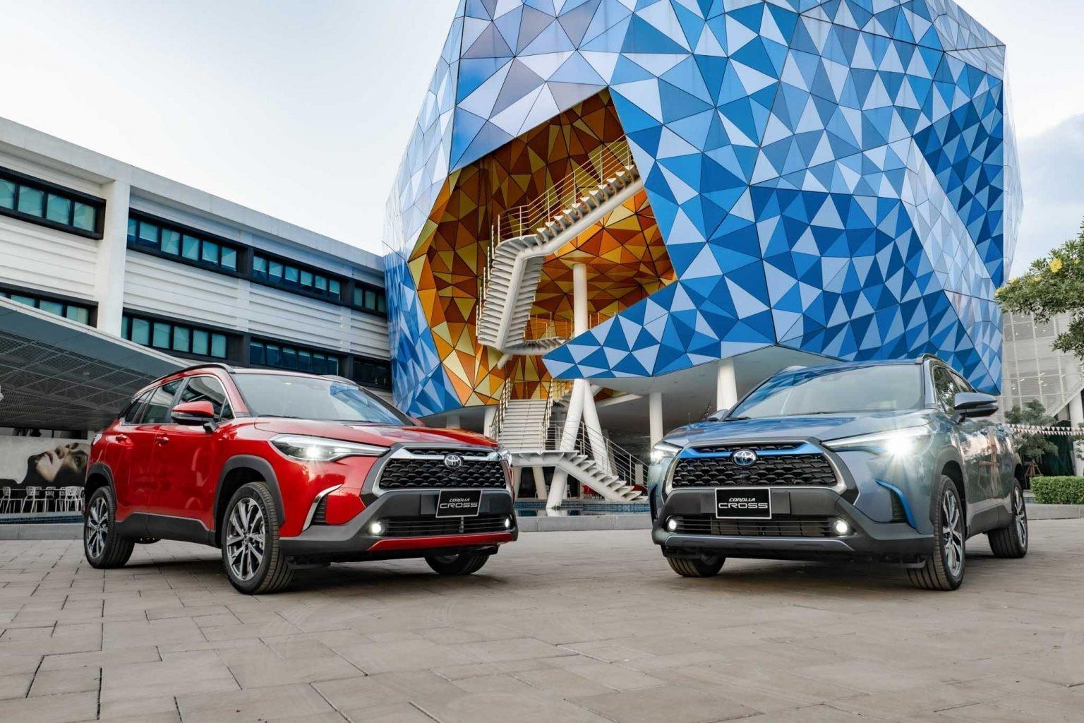 Toyota Corolla Cross tham chiến thương trường.