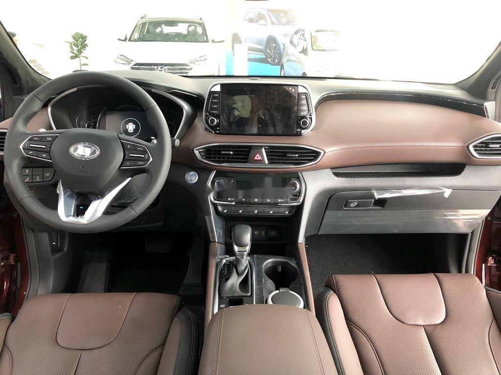 Bán ô tô Hyundai Santa Fe đời 2020, màu đỏ, giao xe nhanh (5)