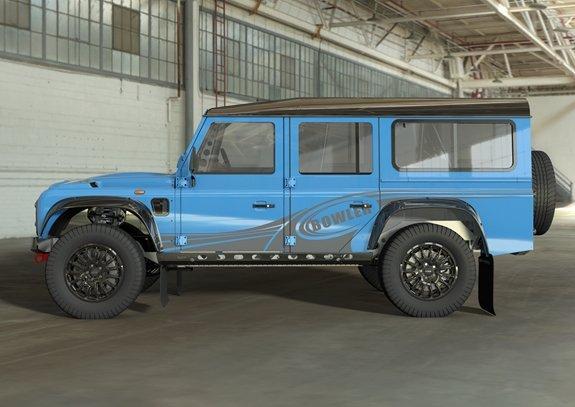 Ảnh dựng xe mới của Bowler Motors mang hơi hướng Defender.