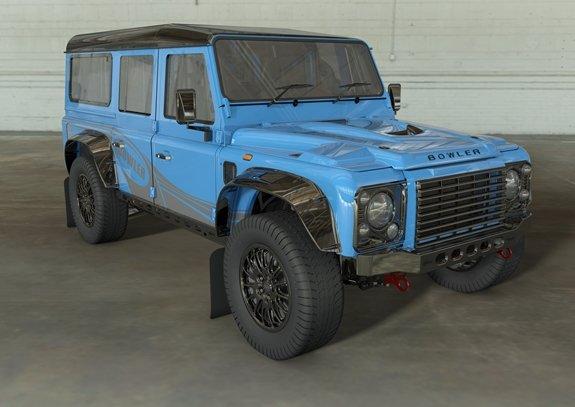 Land Rover cấp phép cho Bowler Motors thiết kế xe địa hình mang hơi hướng Defender.