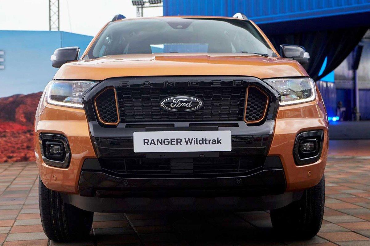 Thiết kế đầu xe Ford Ranger 2021 1