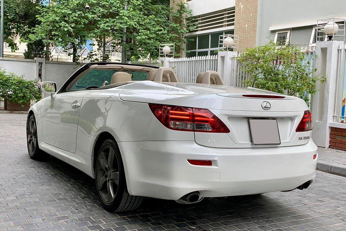 Thiết kế đuôi xe Lexus IS250C 2011 1