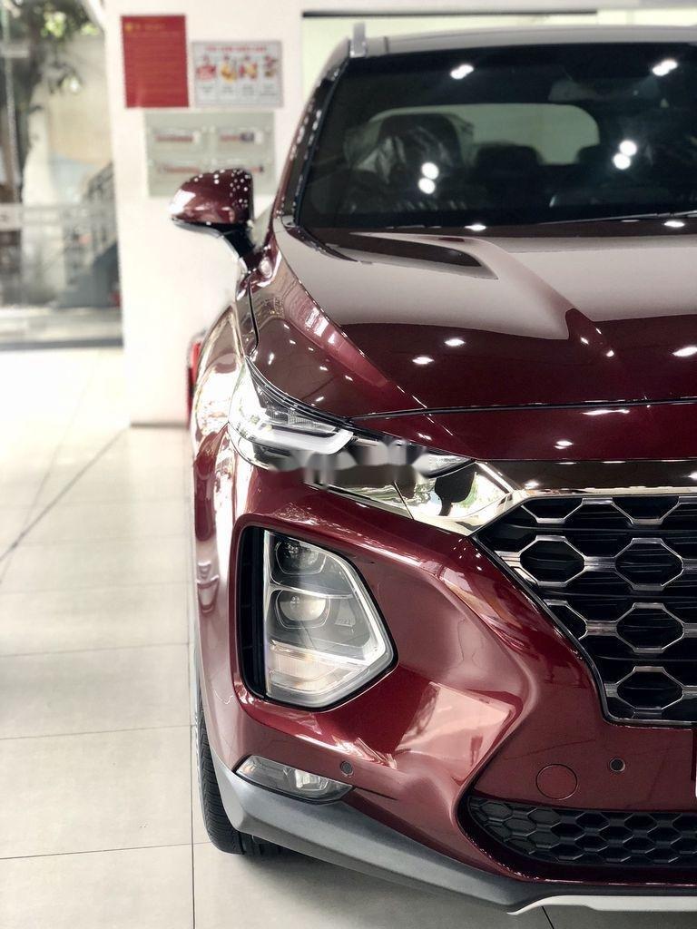 Bán ô tô Hyundai Santa Fe đời 2020, màu đỏ, giao xe nhanh (3)