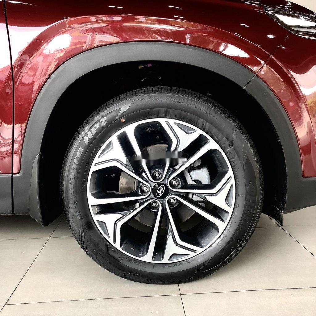 Bán ô tô Hyundai Santa Fe đời 2020, màu đỏ, giao xe nhanh (7)