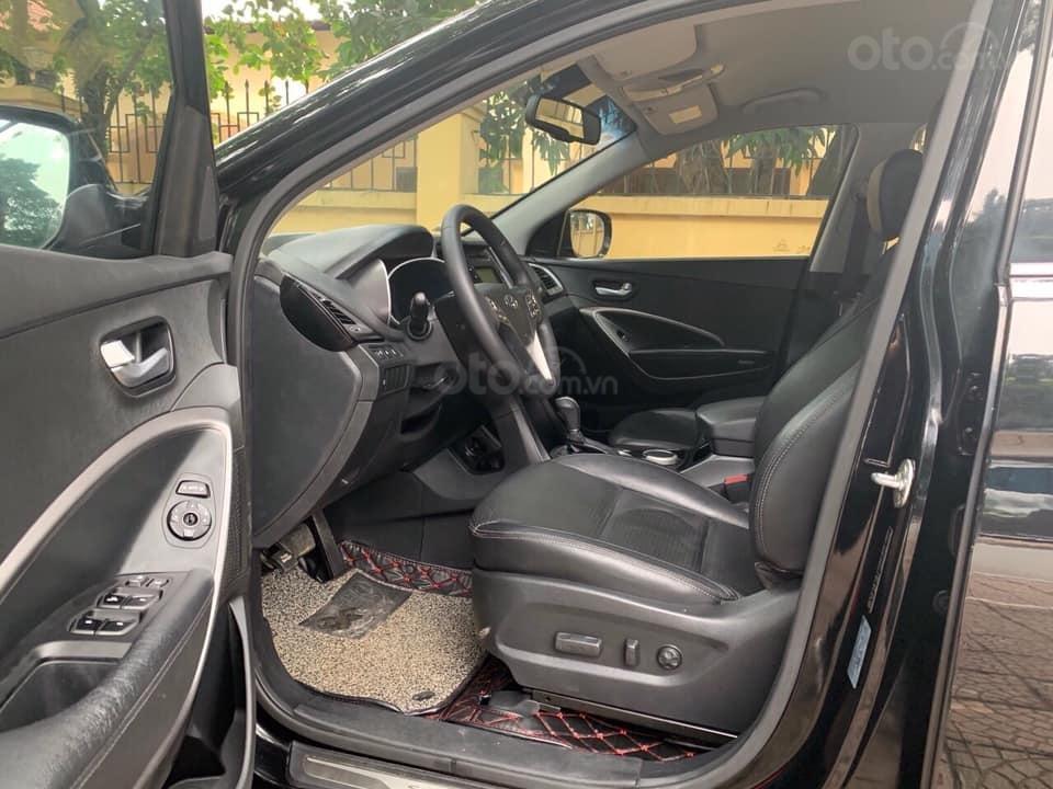 Bán xe Hyundai Santa Fe đời 2013, màu đen (3)