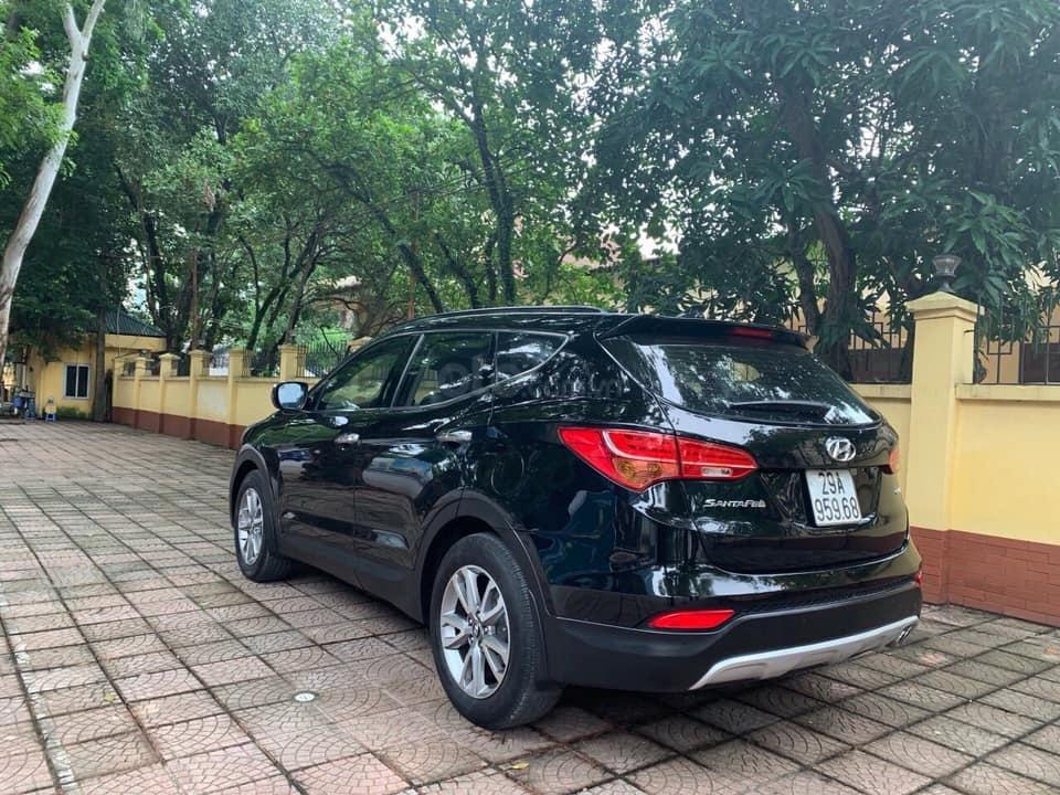 Bán xe Hyundai Santa Fe đời 2013, màu đen (1)