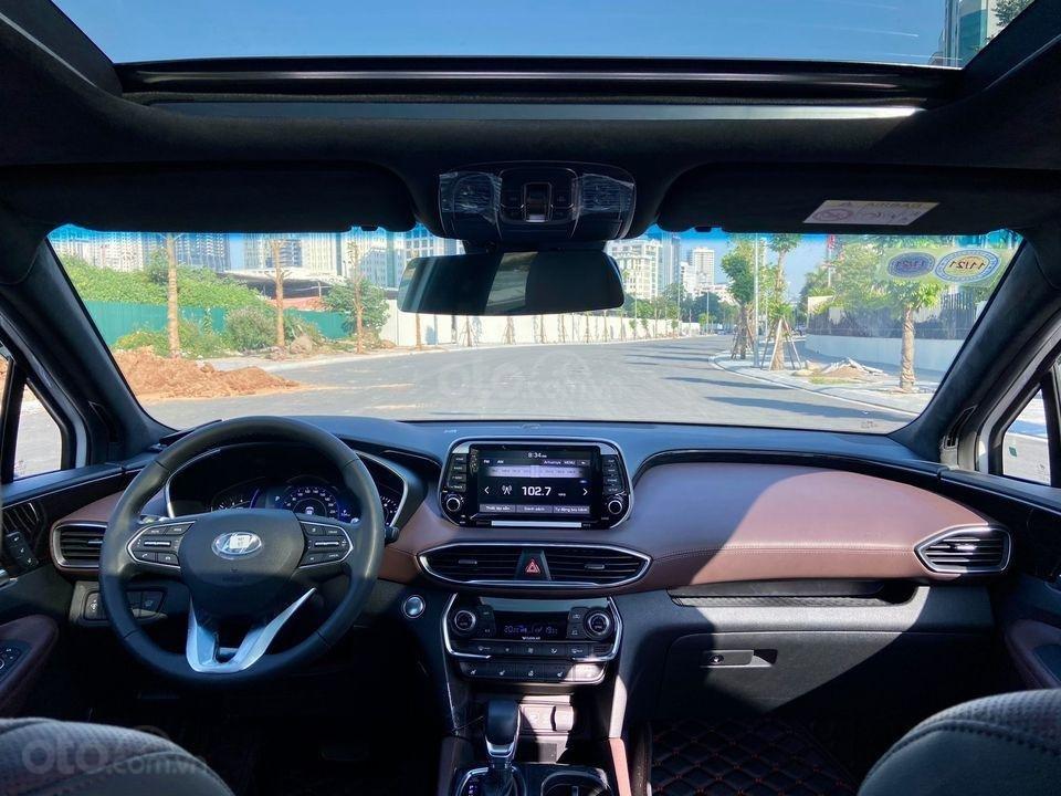 Cần bán gấp với giá ưu đãi nhất chiếc Hyundai Santa Fe máy dầu cao cấp đời 2019, siêu lướt (6)