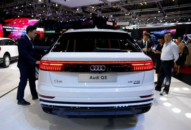 Ngoại thất xe Audi Q8 2021 - Ảnh 2.