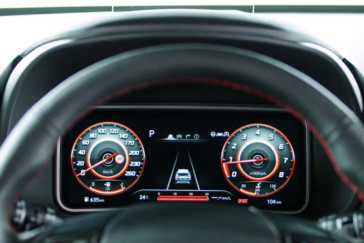 Ảnh Đồng hồ xe Hyundai Kona 2021