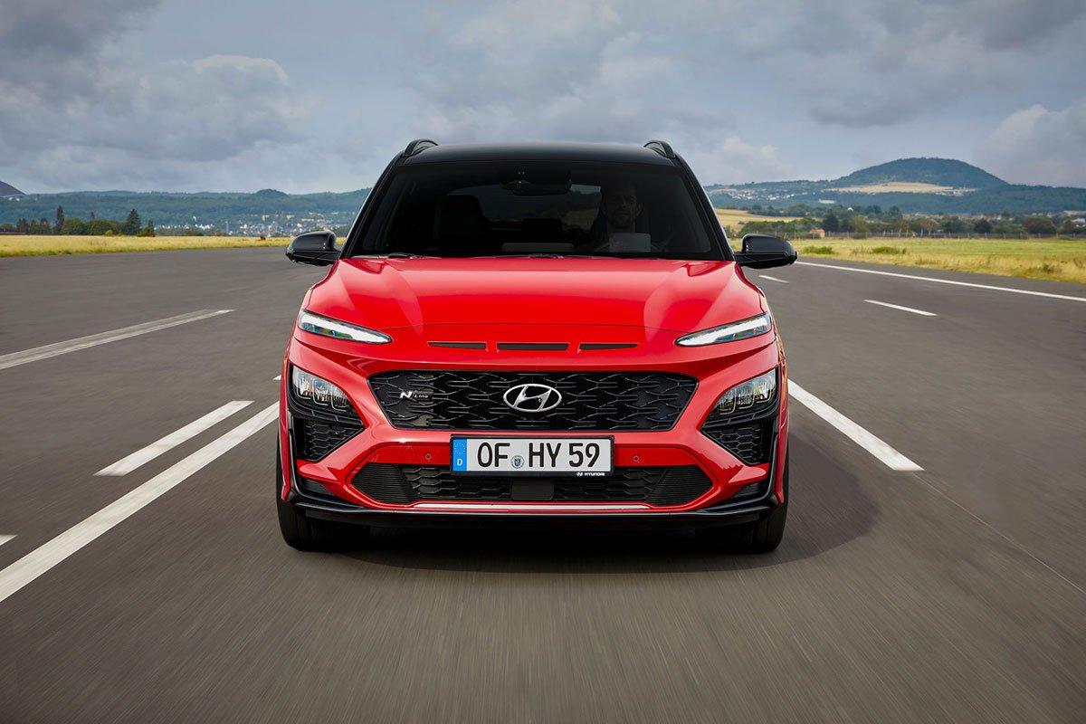Ảnh Đầu xe Hyundai Kona 2021