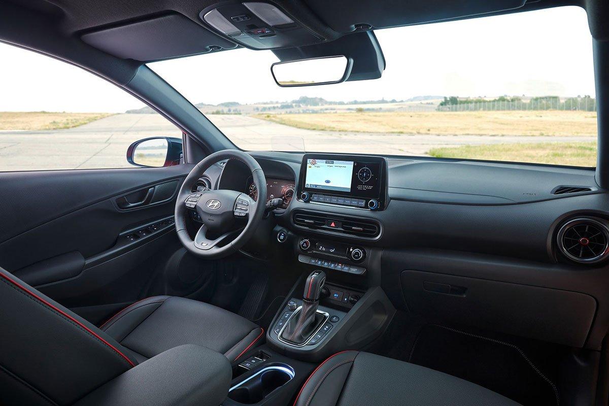 Ảnh Khoang lái xe Hyundai Kona 2021