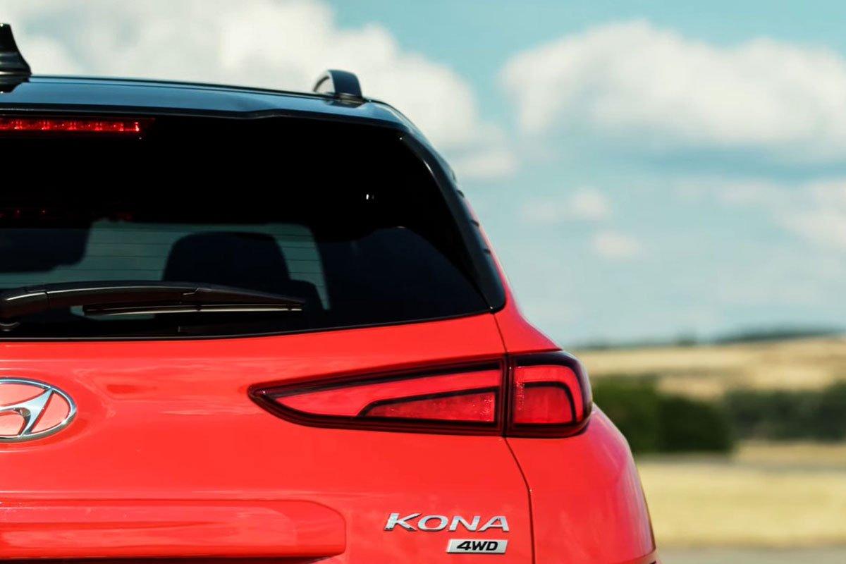 Ảnh Đèn hậu xe Hyundai Kona 2021